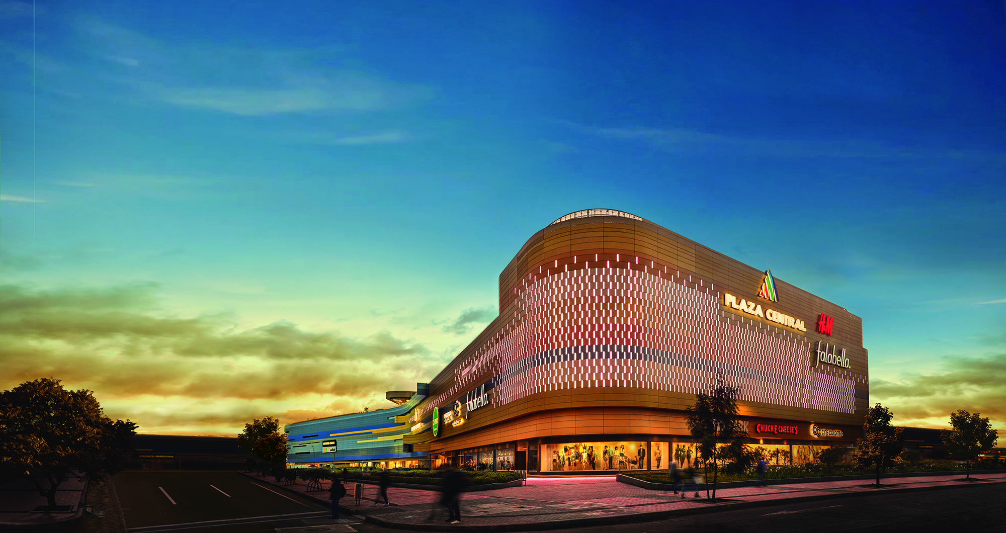 Pei consolidates its 100% ownership of   Plaza Central Shopping Center